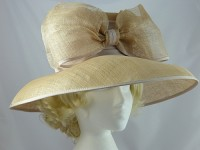  Beige Occasion Hat